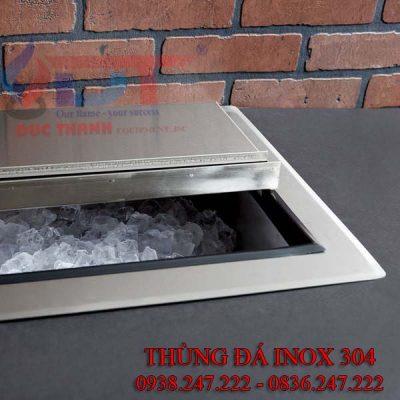 Thùng đá Inox 304 bảo ôn tốt