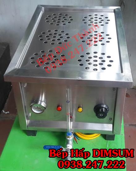 bếp hấp dimsum 6 xửng để bàn